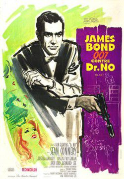cover James Bond 007 contre Dr. No