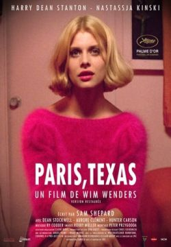 cover Paris, Texas