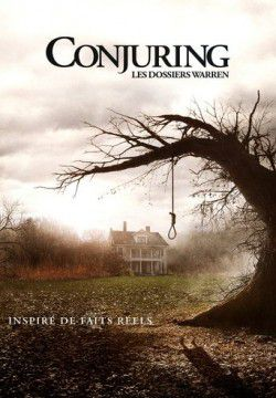 cover Conjuring - Les Dossiers Warren