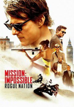 cover Mission Impossible - Rogue nation